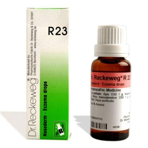Dr.Reckeweg R23 Eczema drops for eczema, pimples, herpes, rashes