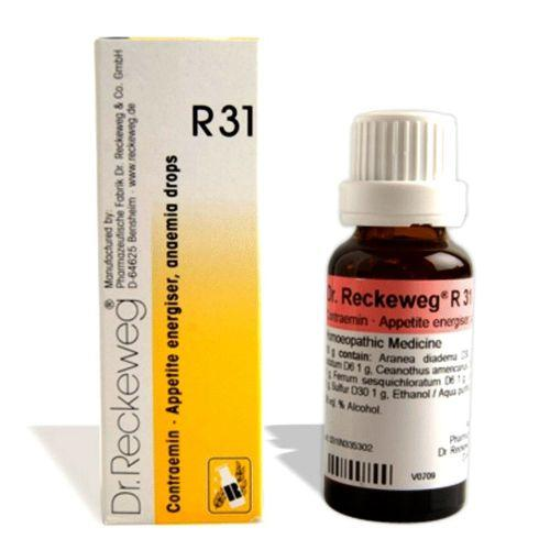 Dr.Reckeweg R31 drops forAnemia, Poor appetite, Liver Weakness