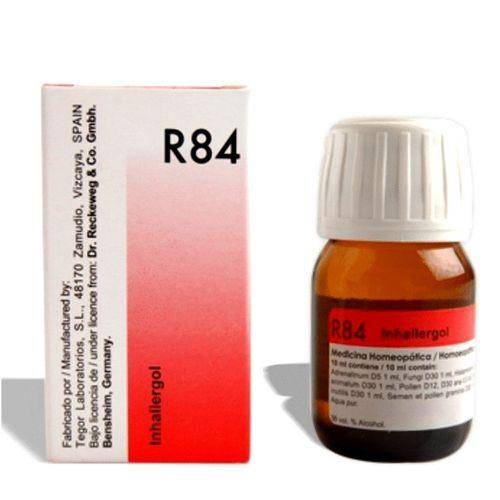 Dr.Reckeweg R84 Inhalent allergy drops for respiratory allergies