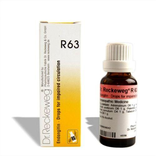 Dr.Reckeweg R63 drops for poor Blood circulation, Cramps, Muscular Spasms