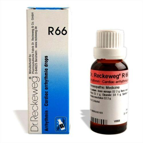 Dr.Reckeweg R66 Cardiac Arrhythmia drops for irregular heart beats, myocardial infract