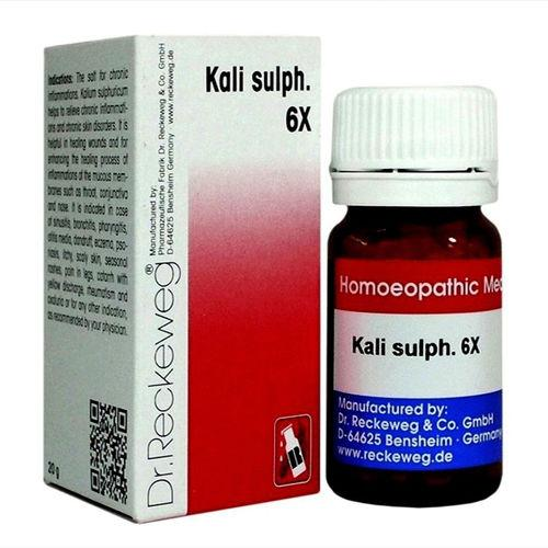 Dr.Reckeweg Biochemic Tablets Kali Sulphuricum for Eczema, Itchy Scaly Skin, Dandruff