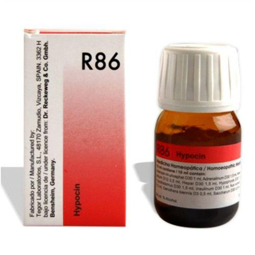 Dr.Reckeweg R86 hypoglycemia drops for low blood sugar