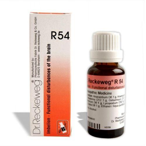 Dr.Reckeweg R54 drops for Brain disturbances, Memory weakness