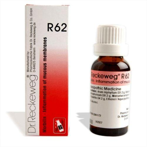 Dr.Reckeweg R62 drops for Measles, Inflammation of mucous membranes