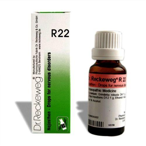 Dr.Reckeweg R22 drops for Nervous disorders, Anginous