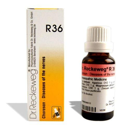 Dr.Reckeweg R36 drops for Nerve diseases, St.Vitus dance, Chorea