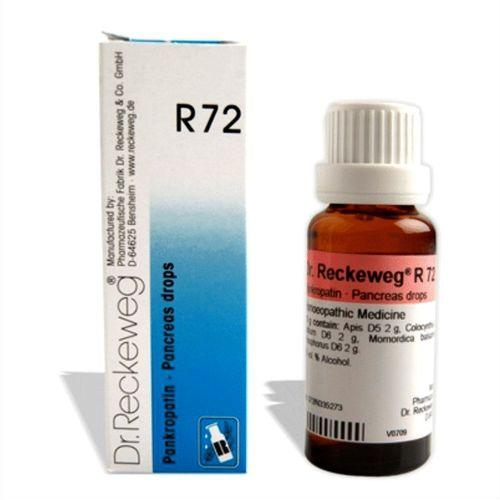 Dr.Reckeweg R72 Pancreas drops for pancreatitis, pancreas disorders