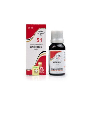 Homeopathy REPL51 for Inguinal and Umbilical Hernia
