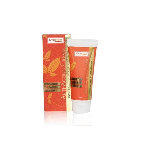 Frank Ross Anti Ageing Cream Enriched with Orange Peel and Cucumber