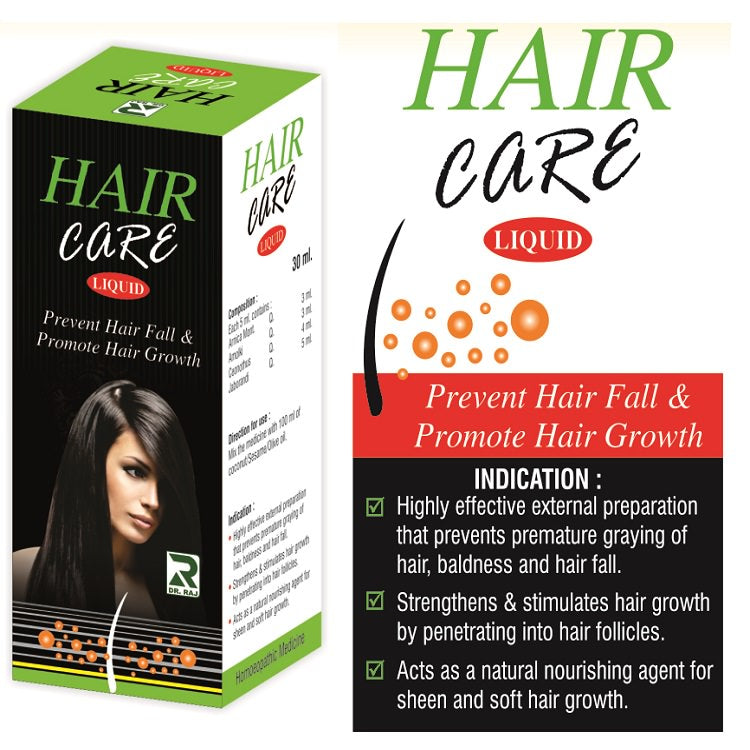 Dr.Raj Haircare Liquid for hairfall, premature graying, baldness