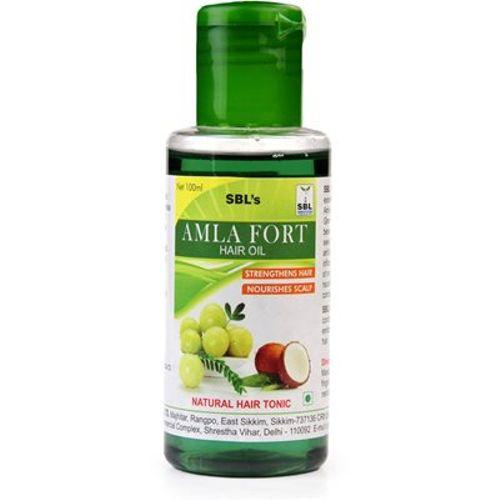 SBL Amla Forte Hair Oil Strengthen Hair and Nourishes Scalp - Natural Hair Tonic