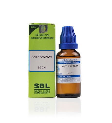 Anthracinum Homeopathy Dilution 6C, 30C, 200C, 1M, 10M, CM
