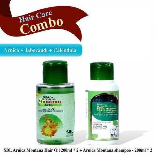 Arnica Montana Hair Oil &  Conditioner Shampoo Combo