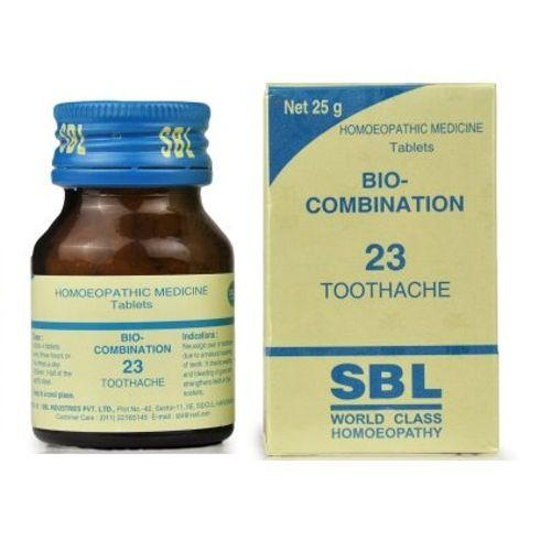 SBL Bio Combination 23 Tablets for Toothache