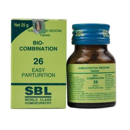 SBL Biocombination BC26 Tablets for Easy Parturition
