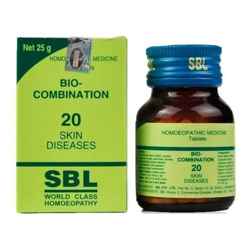 SBL Bio Combination No 20 Tablets for Skin Diseases