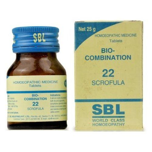 SBL Bio Combination No 22 Tablets for Scrofula