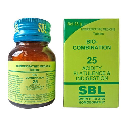 SBL Bio-Combination No.25 For Acidity Flatulence And Indigestion