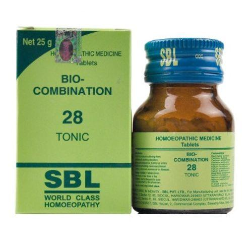 SBL Bio Combination No.28 Tablets - General Tonic