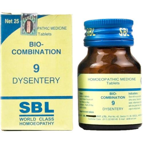 SBL Bio Combination No.9 Tablets for Dysentery