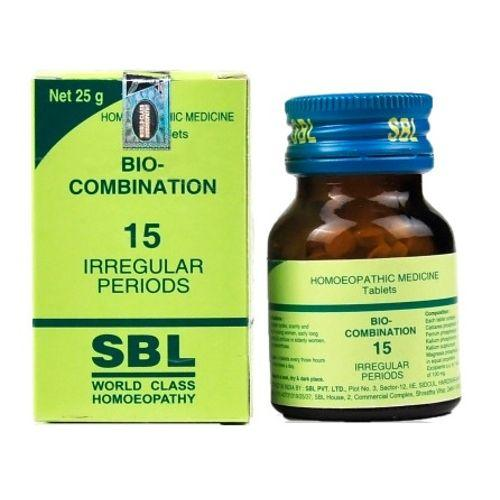 SBL Bio Combination Tablets No 15 for Irregular Periods