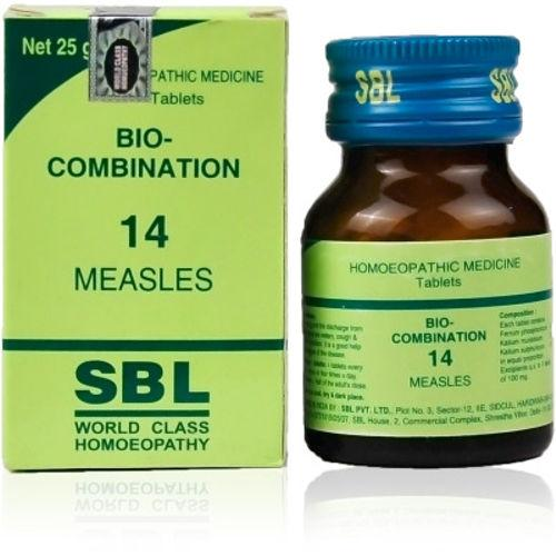 SBL Bio Combination No. 14 Tablets for Measles