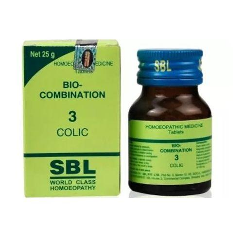 SBL Biocombination No.3 for Colic Tablets