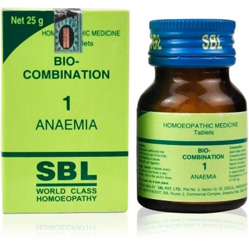 SBL Biocombination No.1 Tablets for Anaema