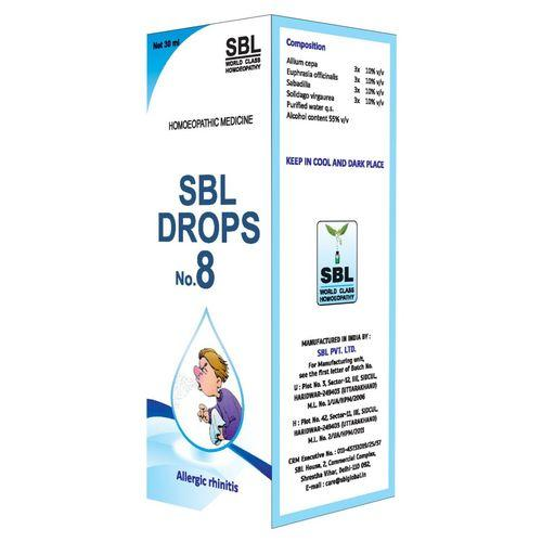 SBL Drop No 8 for Allergic Rhinitis