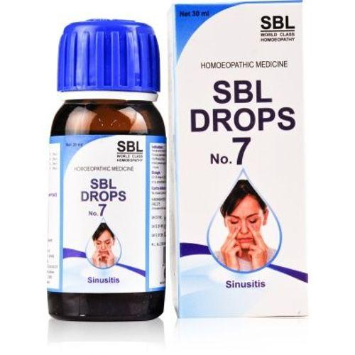SBL Drops No 7 for Sinusitis