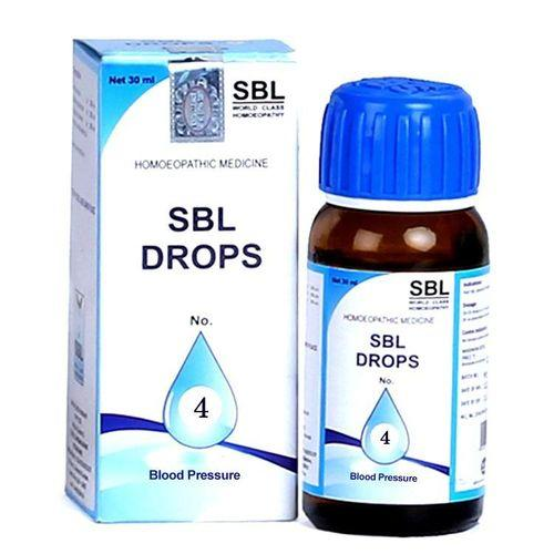 SBL Drops No 4 for Blood Pressure