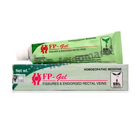 SBL FP Gel for piles, fissures & haemorrhoids