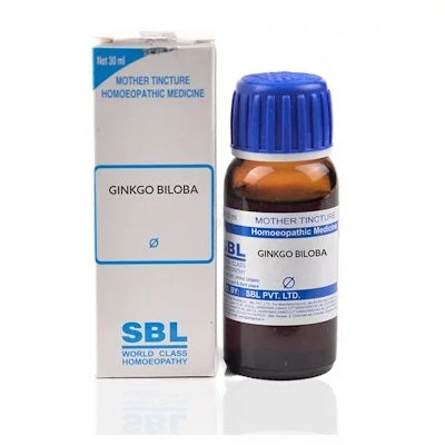 Ginkgo Biloba Homeopathy Mother Tincture Q