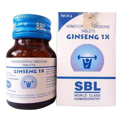 SBL Ginseng 1X Tablets