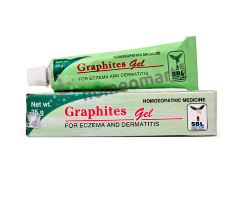 SBL Graphites Gel for Eczema and dermatitis