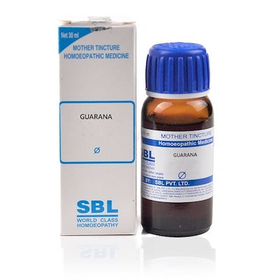 Guarana Homeopathy Mother Tincture Q