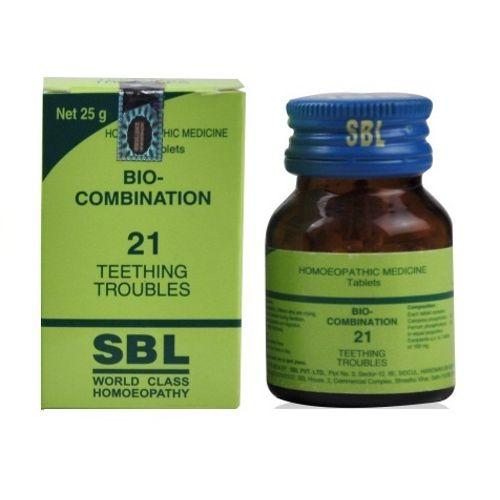 SBL BioCombination 21 for Teething Troubles