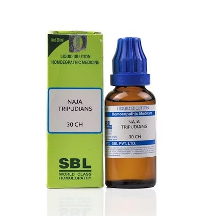 Naja Tripudians Homeopathy Dilution 6C, 30C, 200C, 1M, 10M