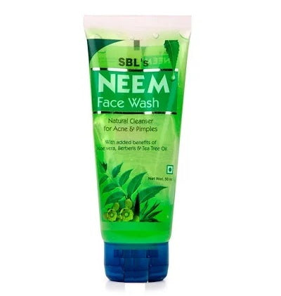 SBL Neem Face Wash for Acne and Pimples 15% Off
