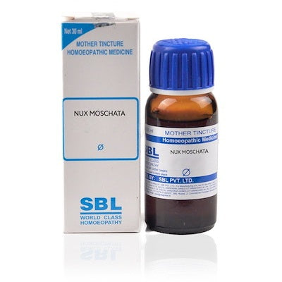 Nux Moschata Homeopathy Mother Tincture Q