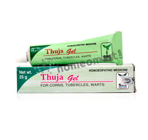 SBL Thuja Gel for corns, tubercles & warts