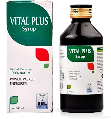 SBL Vital Plus Syrup with Ginseng for Debility, Anxiety, Nervousness