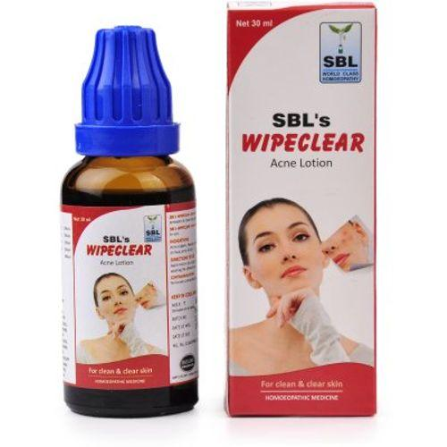 SBL Wipeclear Acne Lotion for Clean and Clear Skin
