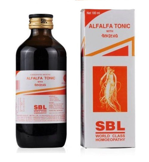 SBL Alfalfa Tonic with Ginseng for Physical Tiredness, Poor appetite