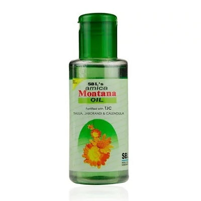 SBL Arnica Montana Hair Oil TJC for Premature Graying, Dandruff 15% Off
