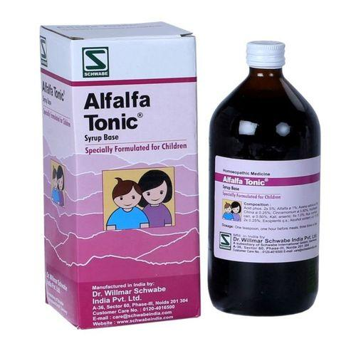 Schwabe Alfalfa Tonic (Children) promotes Physical & Mental activity, helps growth