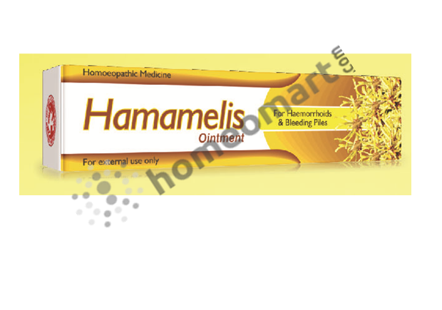 St. George's Hamamelis Ointment for haemorrhoids and bleeding piles