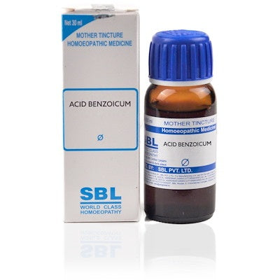 Acidum Benzoicum Homeopathy Mother Tincture Q