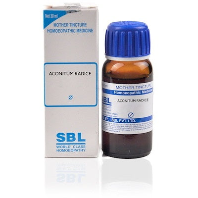 Aconitum E Radice Homeopathy Mother Tincture Q